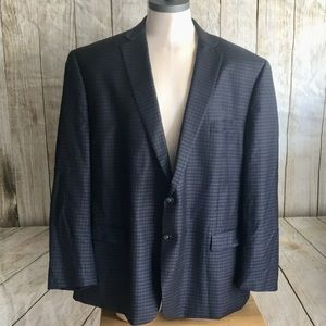 Calvin Klein Silk Wool Sport Coat